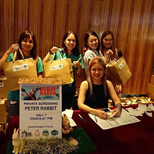 2. Rabbits' Welfare Contribution with House Rabbit Society Singapore (HRSS)
