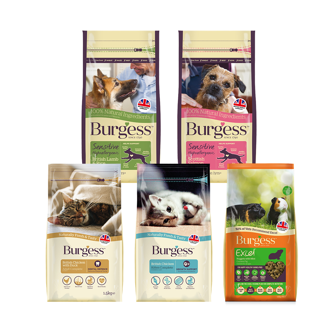 Burgess pet food