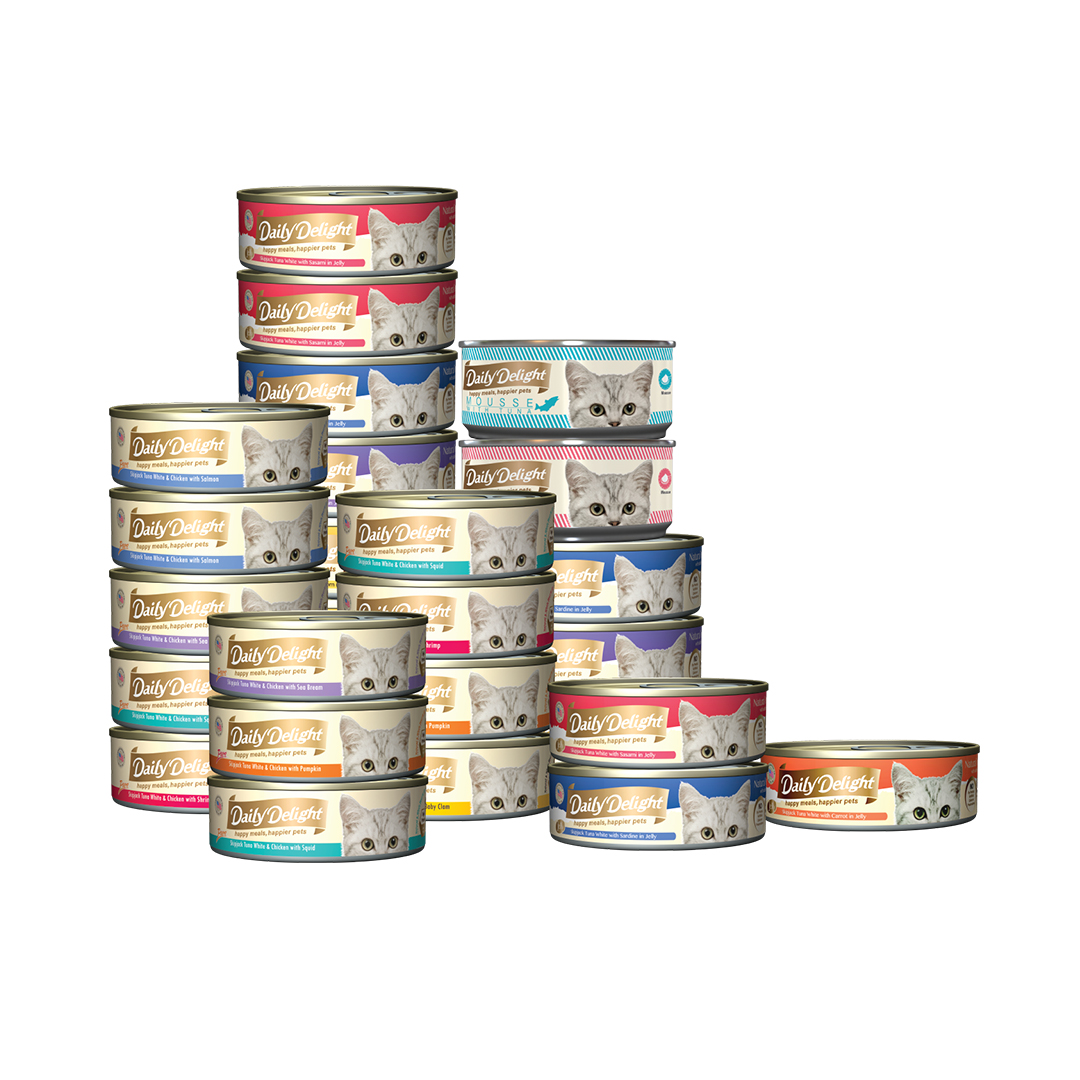 Daily Delight Canned Cat Food