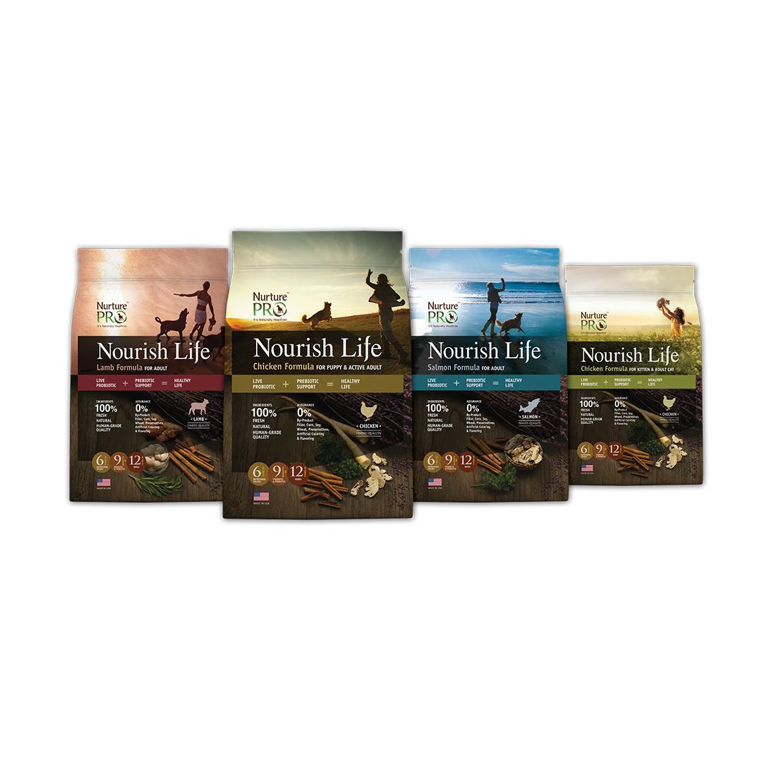 Nurture Pro Nourish Life Pet Food